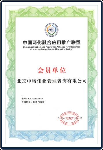 中国两化融合应用推广联盟