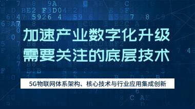 5G物联网体系架构、核心技术与行业应用集成创新